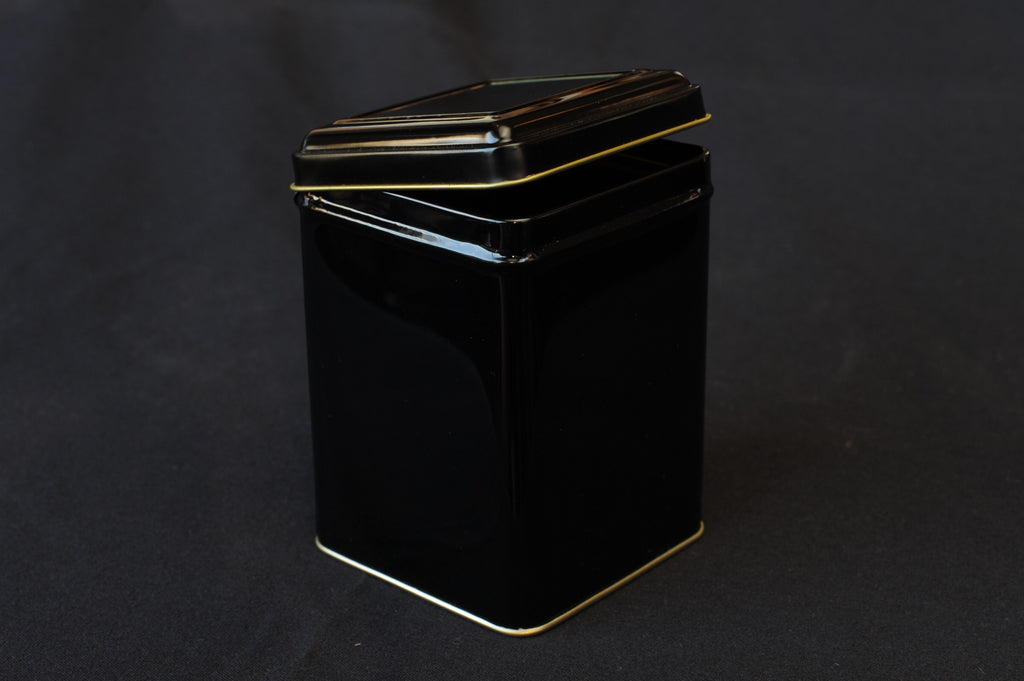 Tea Tin - black