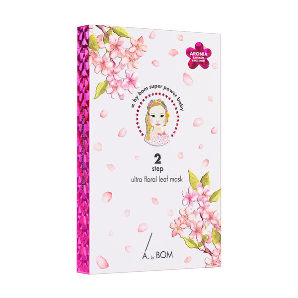 A. by Bom Ultra Floral Leaf Mask 31ml (5 sheets)