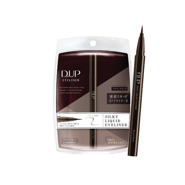 D-UP Silky Liquid Eyeliner (Black Brown)