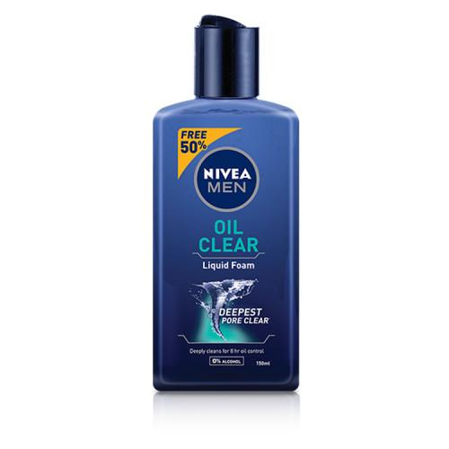 NIVEA Men Oil Clear Liquid Foam 150ml
