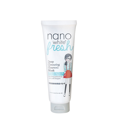Nanowhite Fresh Deep Cleansing Charcoal Mask 80g
