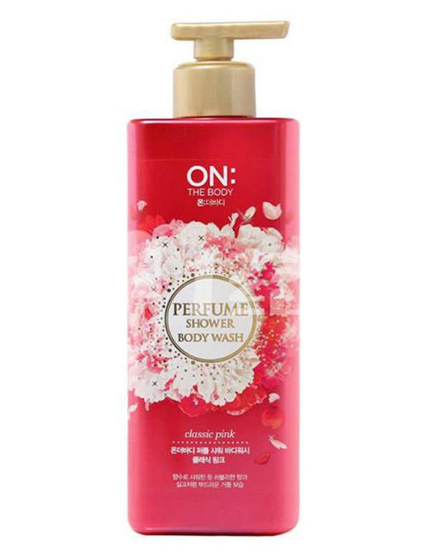 ON THE BODY Perfume Shower Body Wash Classic Pink