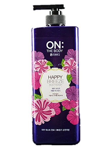 ON THE BODY Perfume Shower Body Wash Happy Breeze