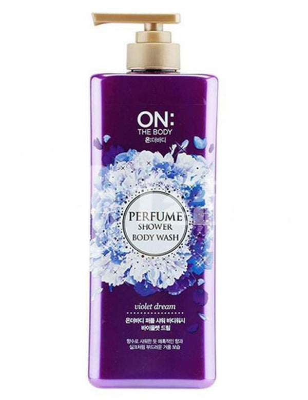 ON THE BODY Perfume Shower Body Wash Violet Dream