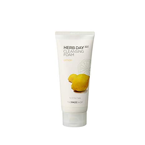 The Face Shop 365 Herb Cleansing Foam Lemon 170ml