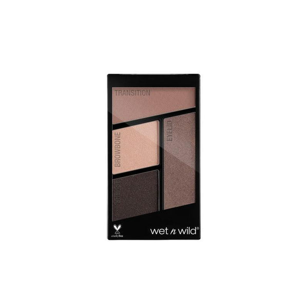 Wet N Wild Color Icon Eyeshadow Quads (Silent Treatment)
