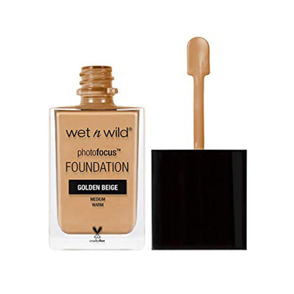 Wet N Wild Photo Focus Foundation (Golden Beige)