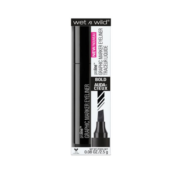 Wet N Wild ProLine Graphic Marker Eyeliner (Jetliner Black)