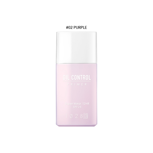 1028 SuperWear Oil Control Primer EX (02 Purple)