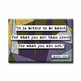 Andre Gide  Quote Refrigerator Magnet (no.318)