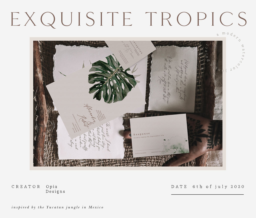 Exquisite Tropics - Modern Jungle