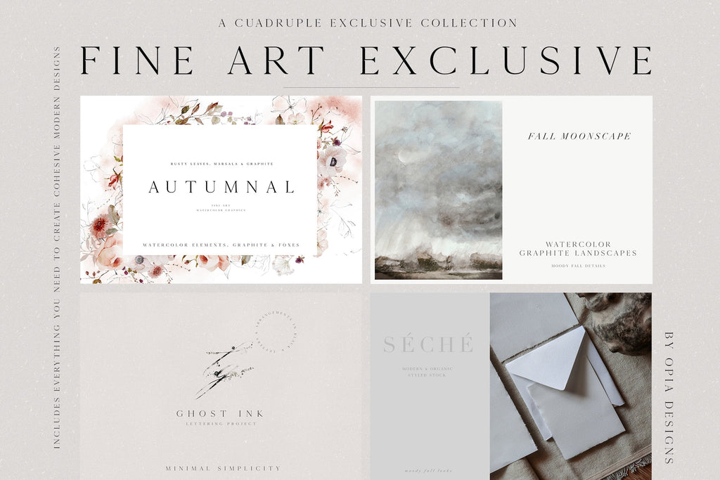 Autumn Fine Art Exclusive BUNDLE
