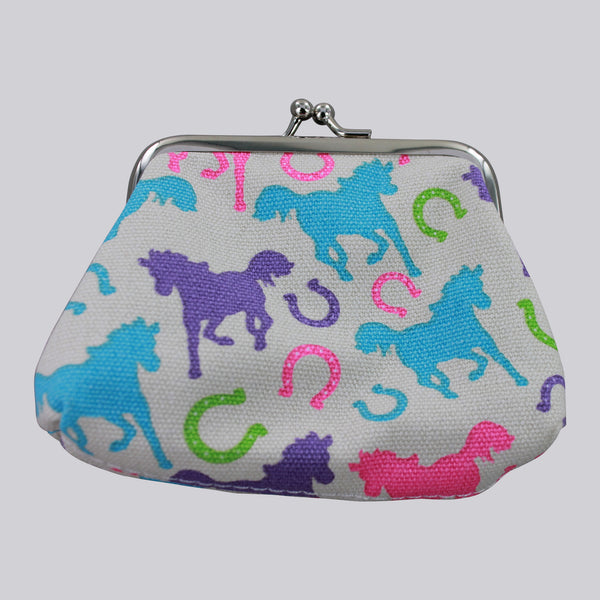 Playful Ponies Coin Purse