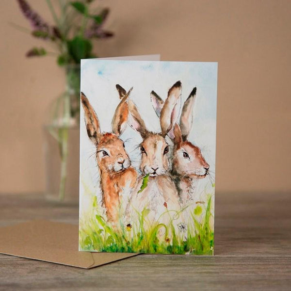Set of 5 Animal Cards