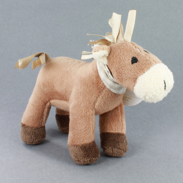 Mini cuddly pony toy