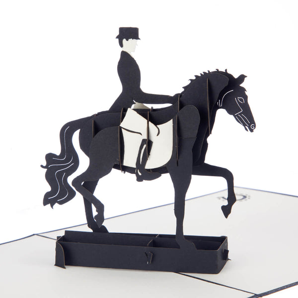 Dressage Pop Up Card
