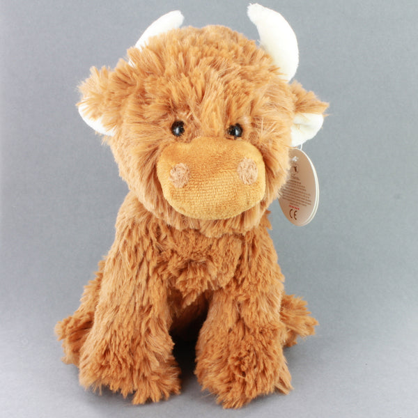 Highland Coo Cuddly Toy