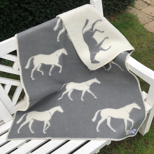 Pure New Wool Horse Blanket Small