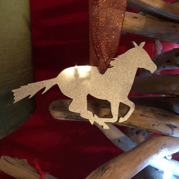 Racing Horse Christmas Tree Decoration