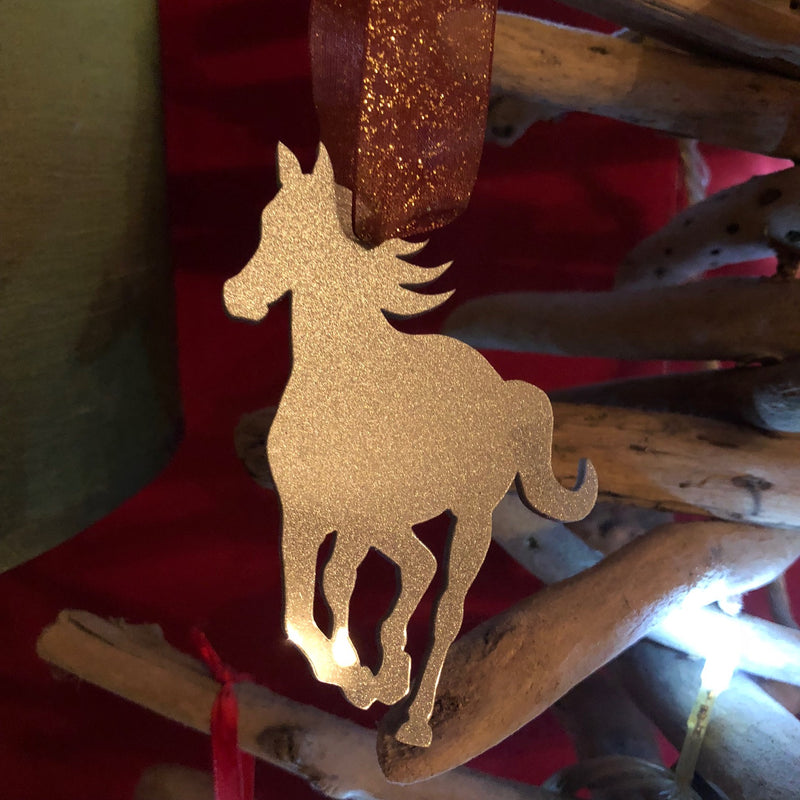 Galloping Horse Christmas Tree Decorations