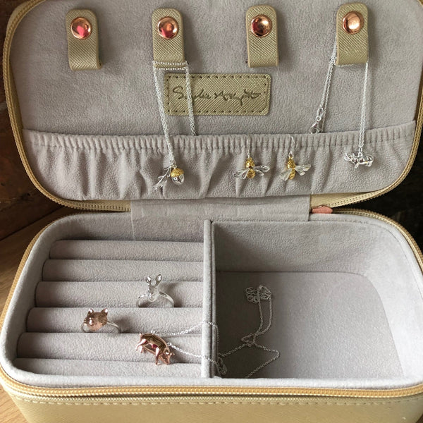 Hare Jewellery Case by Sophie Allport