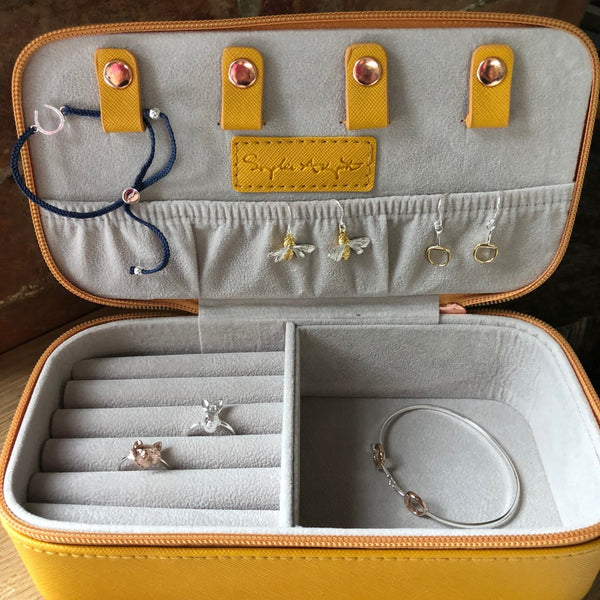 Bees Jewellery Case by Sophie Allport
