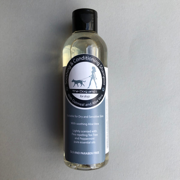 Dog shampoo from the Dog & I