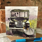 Landy on The Moor Greeting Card