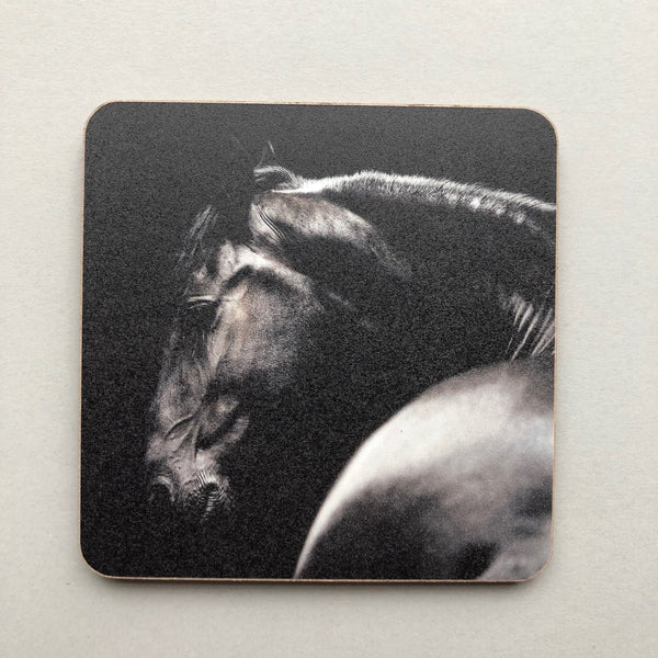 Single Coaster with image of Horse