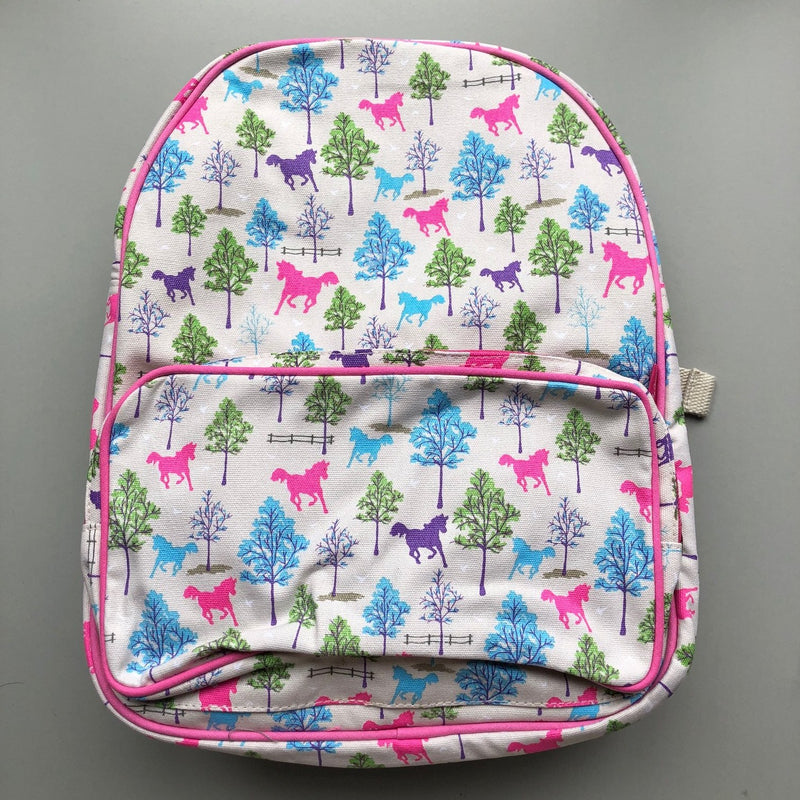 Playful Ponies Childrens Backpack