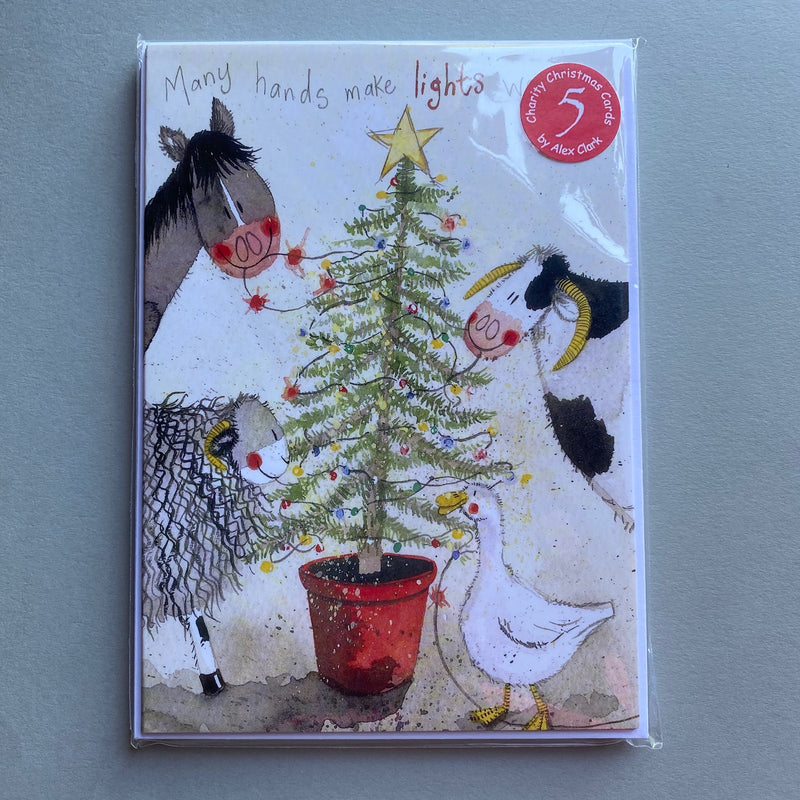Around the Tree - Pack of 5 Charity Christmas Cards