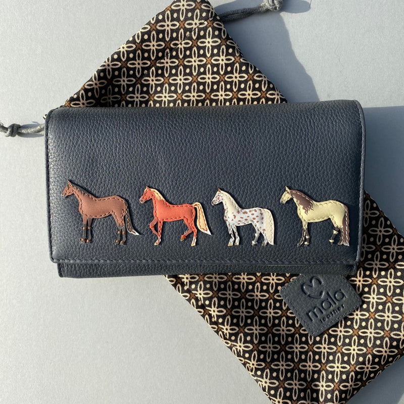 Best Friends Horse Purse Large