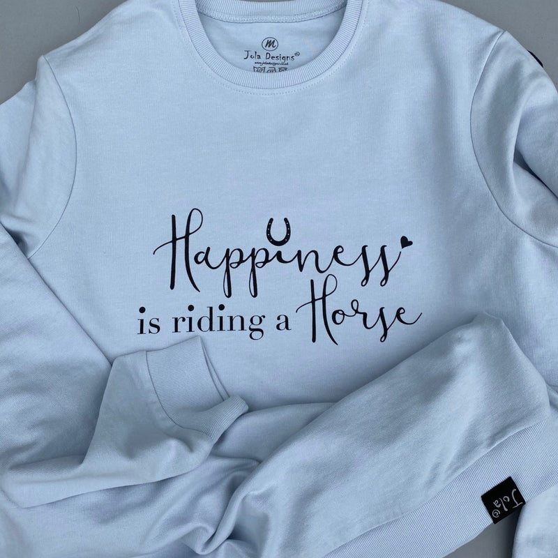 """Happiness is..."" Oversized sweatshirt"