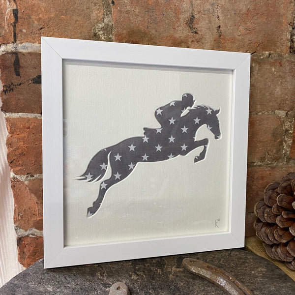 Jumping Horse Starry Picture