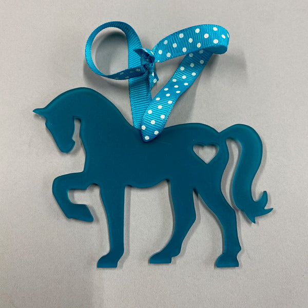 Horse Silhouette Decoration