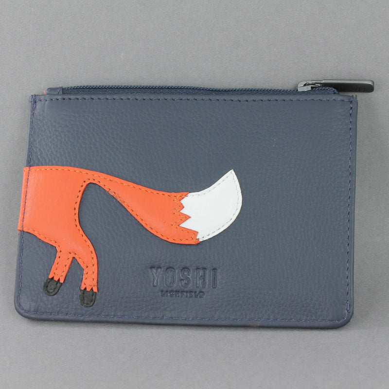 Fergus the Fox Zip top Purse