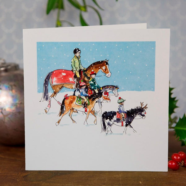 Christmas Day Hacking Greeting Card