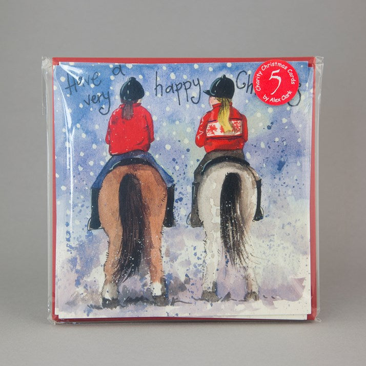 Festive Hacking Charity Christmas Cards Pack