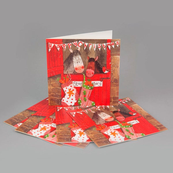 The Christmas Stable Charity Cards Pack