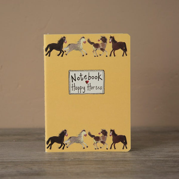 'Happy Horses' Notebook by Alex Clark