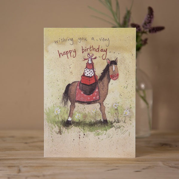 'Pony Express' Horse Birthday Card