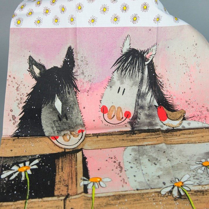 Alex Clark Horse Whispers Tea Towel