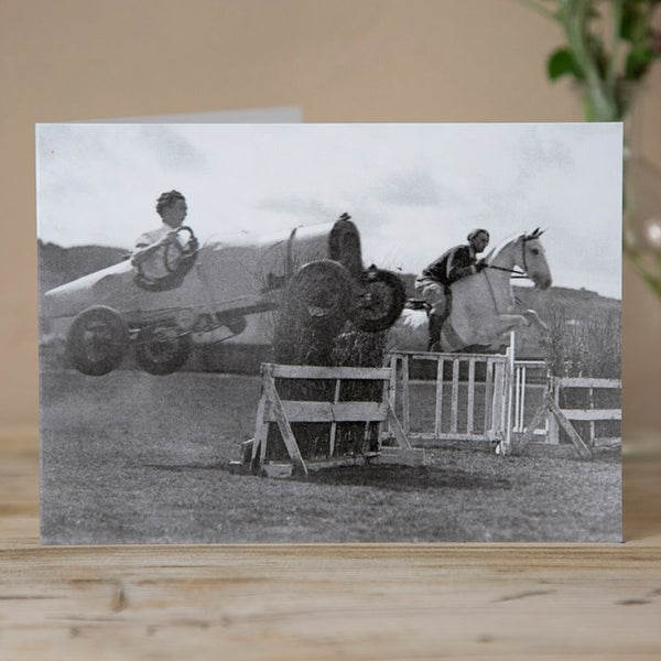 '100 Brake Horse Power' Greeting Card