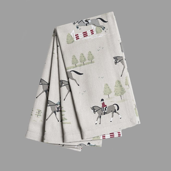 Set of 4 Horses Napkins