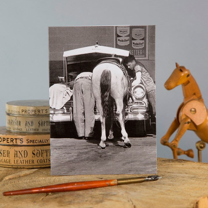 'Zero Brake Horsepower' Greeting Card