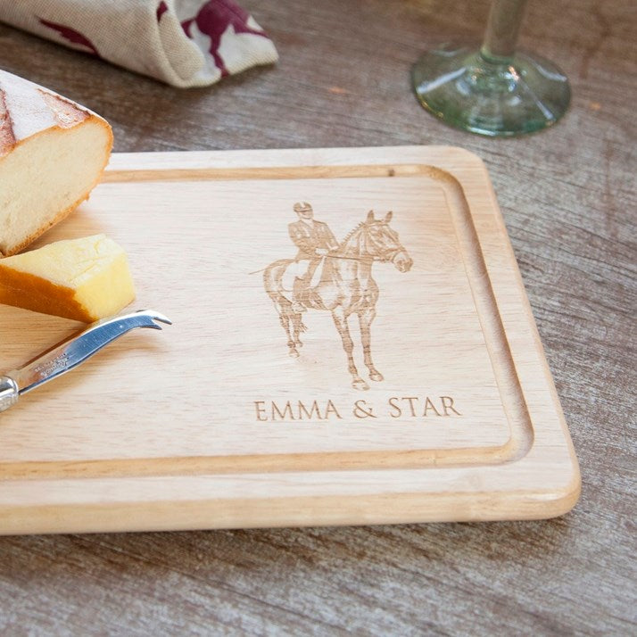 Personalised Rectangular Wooden Bread Board