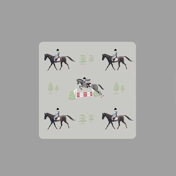 Set of 4 Sophie Allport Horse Coasters
