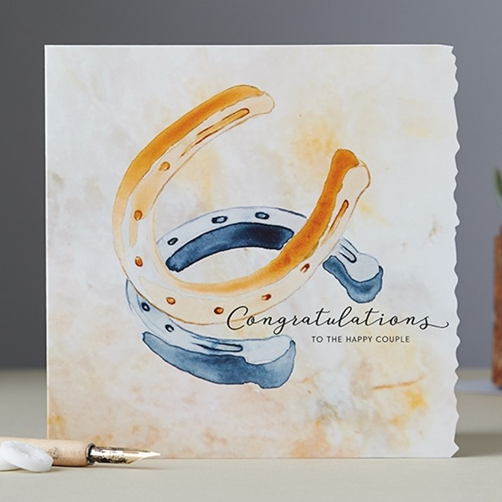 Congratulations to the Happy Couple Card