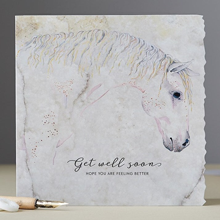 Get Well Soon Watercolour Card