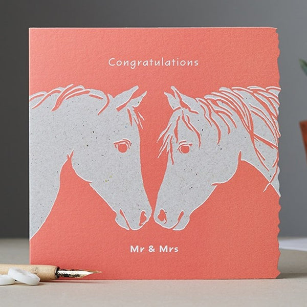 Congratulations Mr & Mrs Card